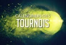 CALENDRIERS DES TOURNOIS